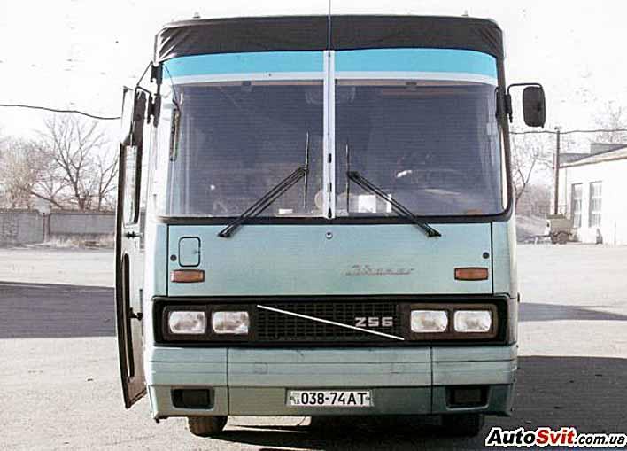 Пригородный автобус Ikarus.
